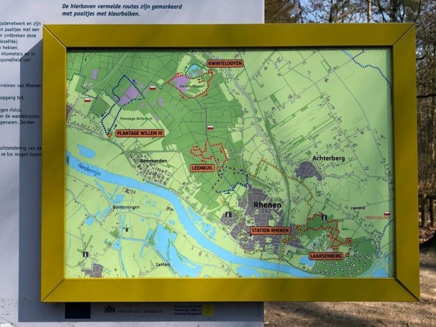 Wandelgids Utrechtse Heuvelrug Rhenen