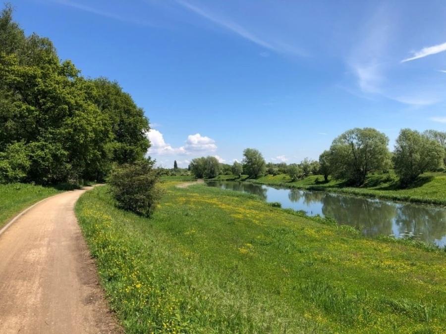 Fietsroute Rhenen langs de Rijn Grebbeberg Onderlangs