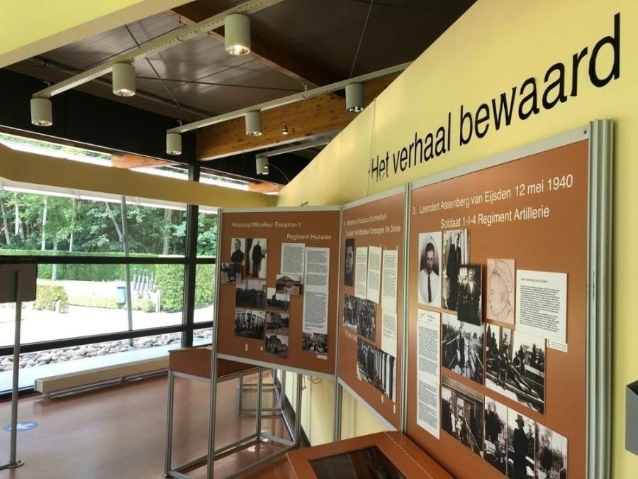 Bezoekerscentrum Militair Ereveld Grebbeberg